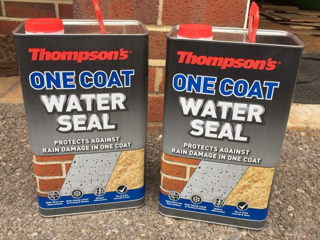One coat Water seal