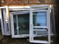 Selection of double glazing - french doors and 2 sash windows