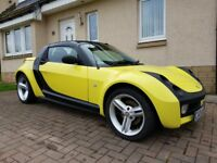 Smart Roadster Notchback 2004 Yellow/Black