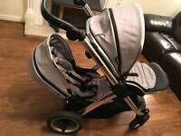Oyster Max tandem double pram
