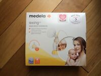 Electric breast pump. Medela