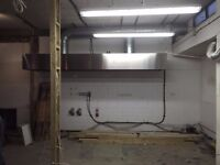 Commercial Kitchen Canopy/Hood 4 metre + Complete Extraction Kit