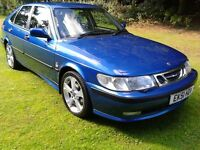 2002 SAAB 93 SE 2.2 TID 5DR LEATHER 12 MTHS MOT LOVELY CAR