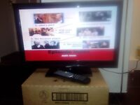 "22"" Tesco TV/DVD with new remote."