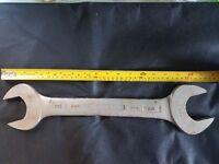 "King Dick AF Double Open ended spanner {Size: 3/4"" x 7/8"" }"