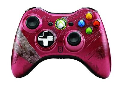 XBOX 360 MOD 13 MODE Rapid Fire Wireless Controller Tomb Raider + LEDs, Thumbs for sale  Shipping to India