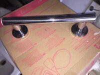Stainless steel grab rail