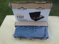 Brand New Camping Cooker. Halfords Double Burner Cooker and Grill