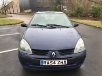 Renault Clio automatic very low mileage
