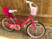 Girls bike 18
