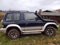 Nice old Shogun V6 3000 1997 No MOT but only needs slight work