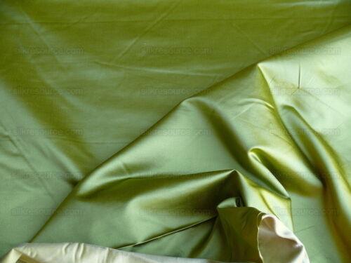 20YDS BRUNSCHWIG & FILS GEORGES SATIN SILK SPRING GREEN MSRP 248/Y
