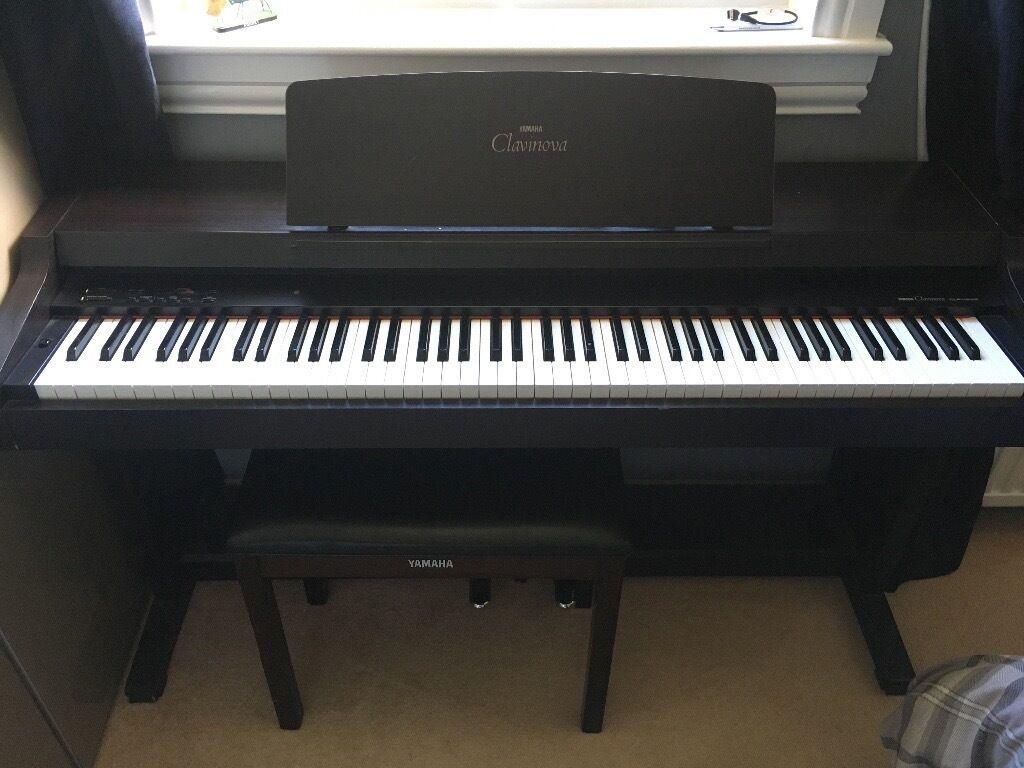 Yamaha clavinova clp 153s digital piano in dundee gumtree for Yamaha clavinova cvp 87a for sale