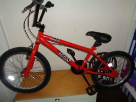 Trax bmx as new condition