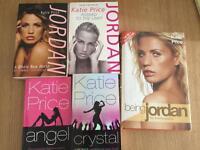Katie price / Jordan autobiography & book bundle