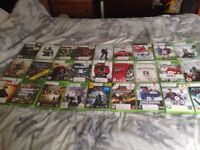 30 X Box 360 games
