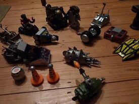 Robot Wars Pullback toy collection