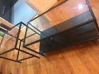 Two Piece Glass Coffee Table