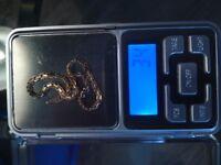 Gold bracelet - 14 carat - 3.4g