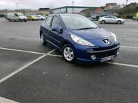 PEUGEOT 207 1.4 2007 1 YEARS MOT NO ADVISERS