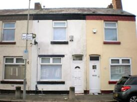 Simm's Road, Tuebrook. 2 bed mid terrace with GCH, DG, downstairs bathroom. LHA welcome