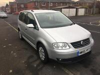 Volkswagen touran 2005 1.6 petrol 7 seaters