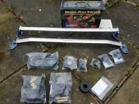 Ek poly bush set + cusco front & rear strut braces