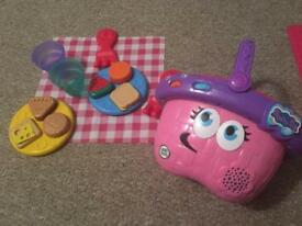 Leap frog musical Picnic basket with shapes