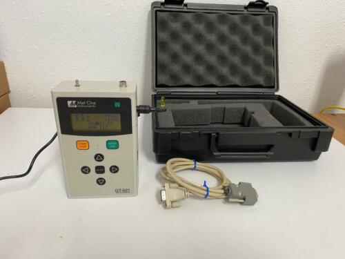 Met One GT-521 Particle Counter  30 days warranty!!  CHECK VIDEO!!!