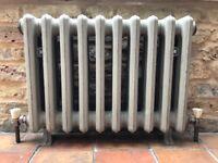 Original Victorian cast iron radiators (2 of)