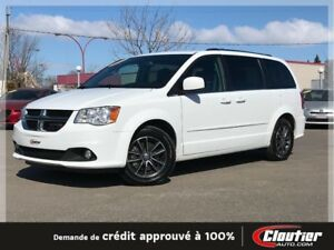 2017 Dodge Grand Caravan SXT PLUS / CUIR / STOW & GO