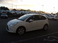 2012 61 CITROEN C3 1.4 WHITE 5D 72 BHP **** GUARANTEED FINANCE **** PART EX WELCOME ****