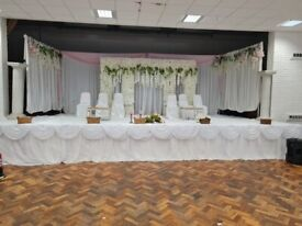 Birmingham- B19 Event hall with a stage for hire-Weddings, birthday parties, gatherings