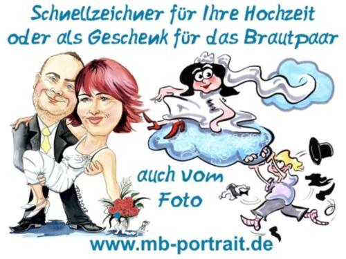 Schnellzeichner für Hochzeiten in MV - Hochzeitszeichner in Rostock