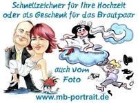Schnellzeichner für Hochzeiten in MV - Hochzeitszeichner Rostock - Südstadt Vorschau
