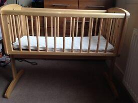 Mothercare natural baby Cot