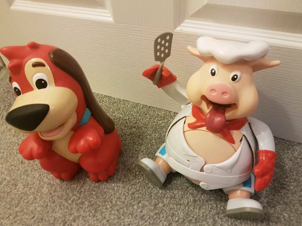 Red rover and pigs go pop children's toy