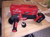 BRAND NEW Milwaukee fuel 18v grinder, newest model, charger and battery