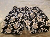 New Unworn Next Floral Print Men's Shorts - Large