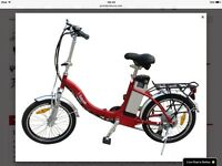 Wayfarer electric folding bike