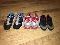 Nike haurache kids size 12 (x3 pairs)