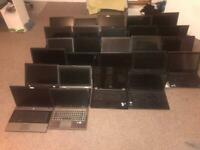 Joblot of laptops mixed core2duo i3 and i5 fully working