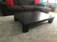 Beautiful and heavy Asian style low coffee table