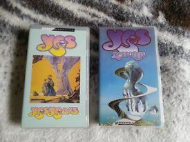 Yes Videos x 2, (VHS), good condition.