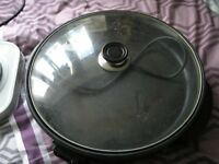 electric cooking pan/non stick