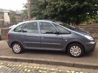 Citroen Picasso VTX HDI 2008 (58) **Diesel**MPV**Low Mileage**Full Years MOT**Only £1995**