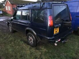 Breaking 2003 landrover td5 discovery 2 facelift model