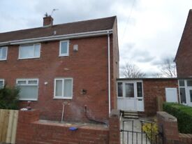 Lovely 3 Bedroom house available to rent in Pennywell, Sunderland. Low move in costs! AVAILABLE NOW.