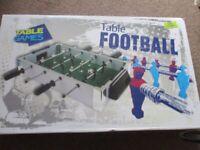 Small bar football game brand new.