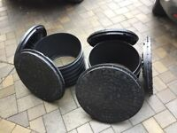 5 x Manhole Covers and 2 x Risers